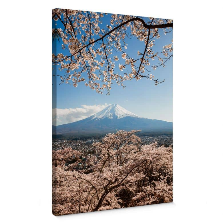 Leinwandbild Colombo - Mount Fuji in Japan