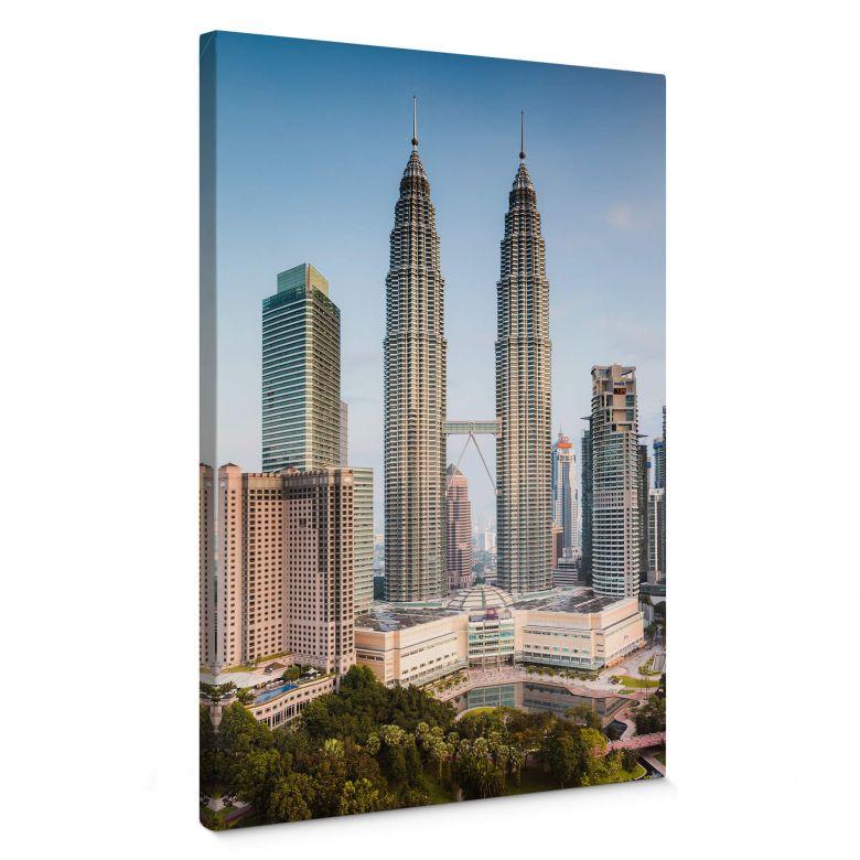 Canvas Print Colombo - Petronas Towers in Kuala Lumpur