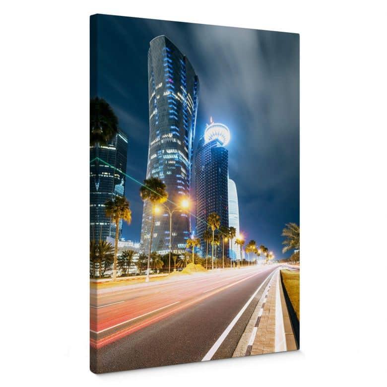Leinwandbild Colombo - Qatar - Doha