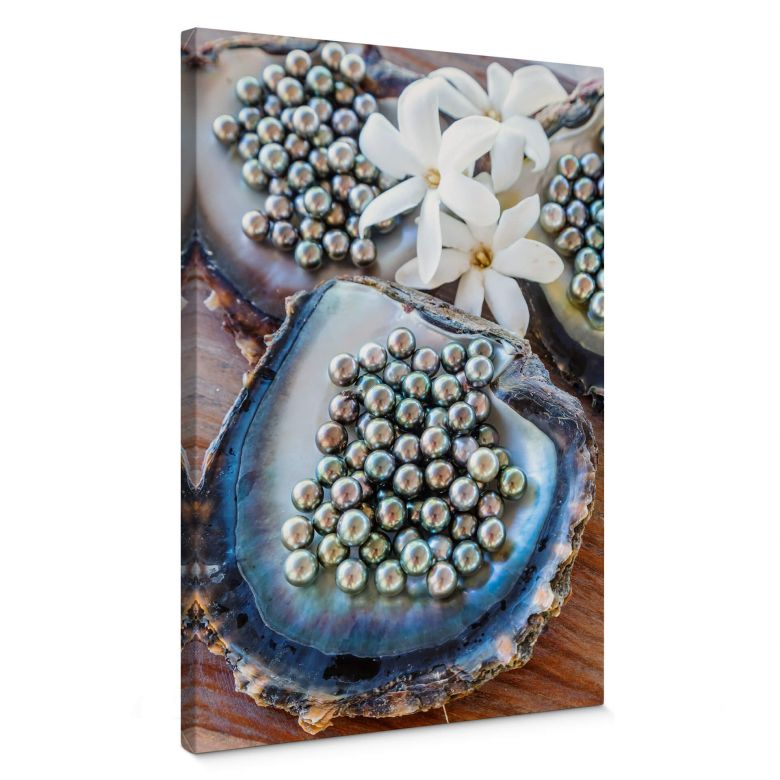 Leinwandbild Colombo - Schwarze Perlen von Tahiti