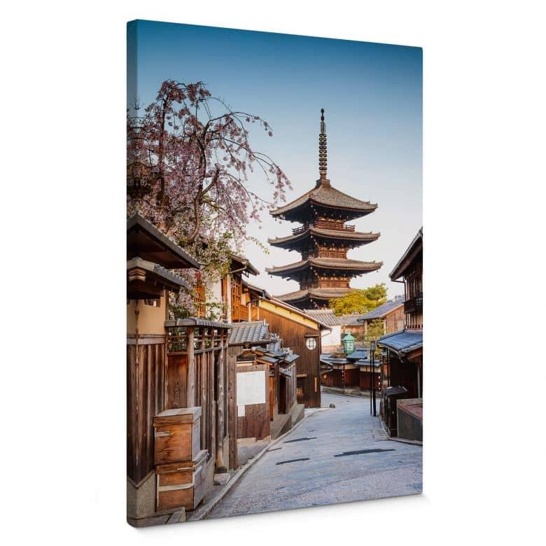 Leinwandbild Colombo - Yasaka Pagode in Japan