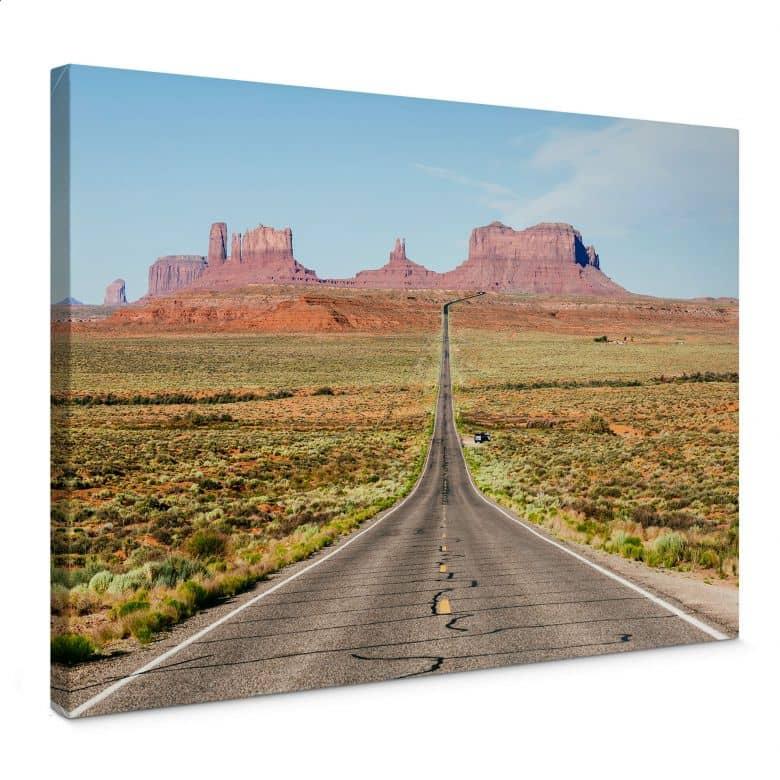 Leinwandbild Colombo - Monument Valley in Arizona