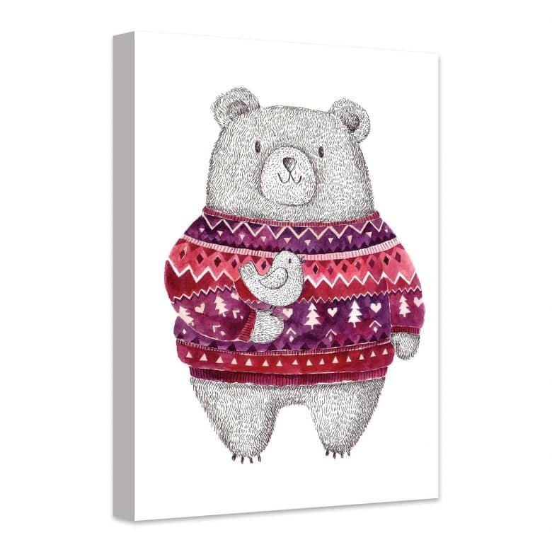 Leinwandbild Cuddly Teddy