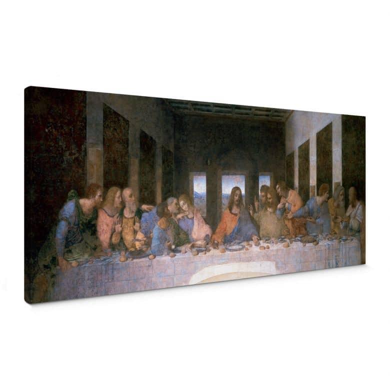 Leinwandbild da Vinci - Das letzte Abendmahl