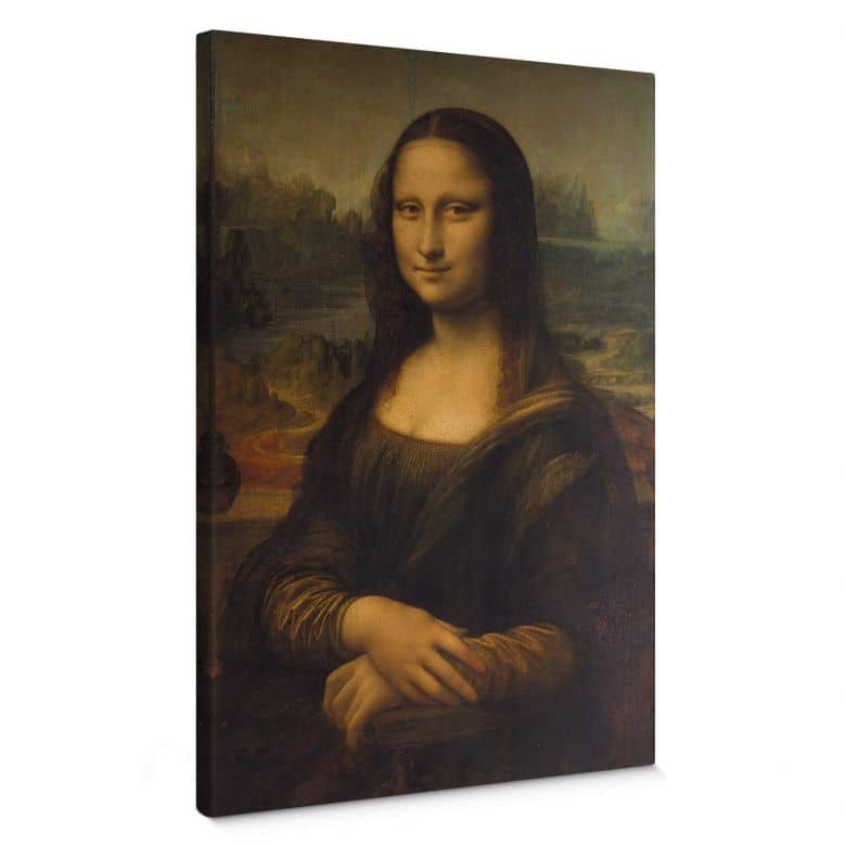 Leinwandbild da Vinci - Mona Lisa