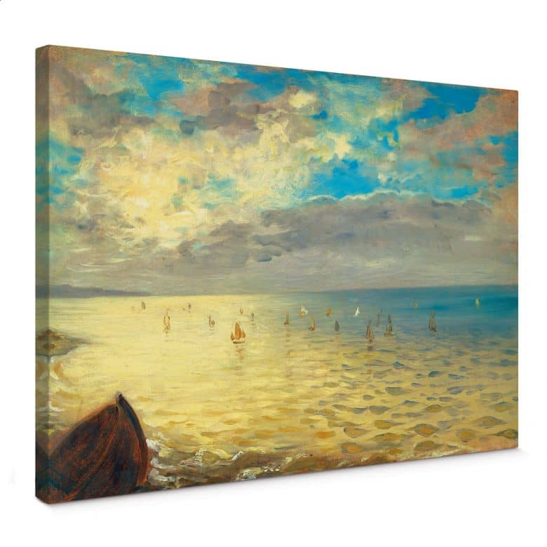 Eugène Delacroix - The Sea Canvas print