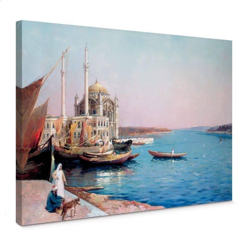 Tableau sur toile Dellepiane - Sur les rives du Bosphore