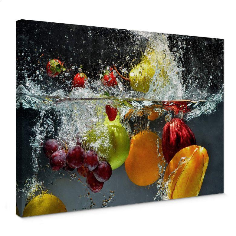 Tableau sur toile - Fruits frais