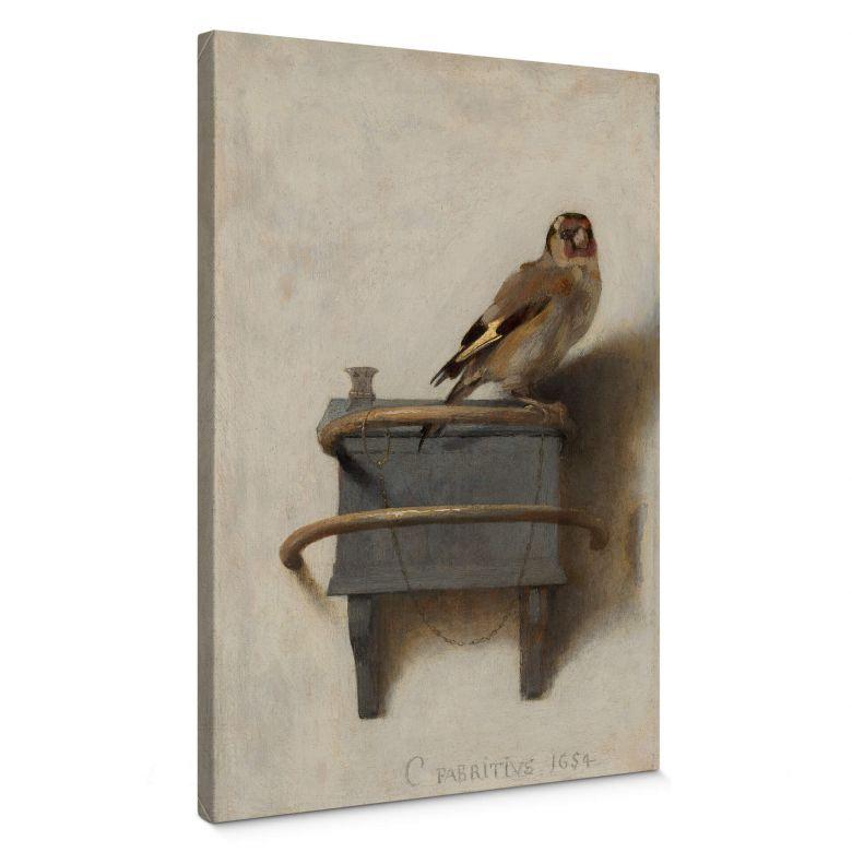 Leinwandbild Fabritius - Der Distelfink