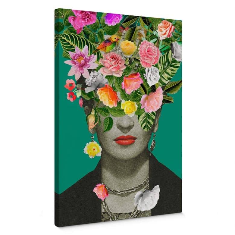 Tableau en toile Feldmann - Frida Floral