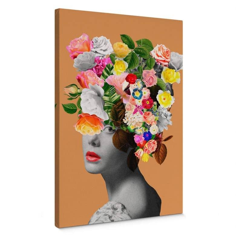 Canvas Feldmann - Orange Lady