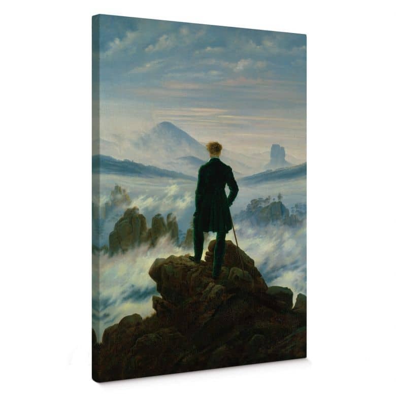 Caspar David Friedrich The Wanderer Canvas print