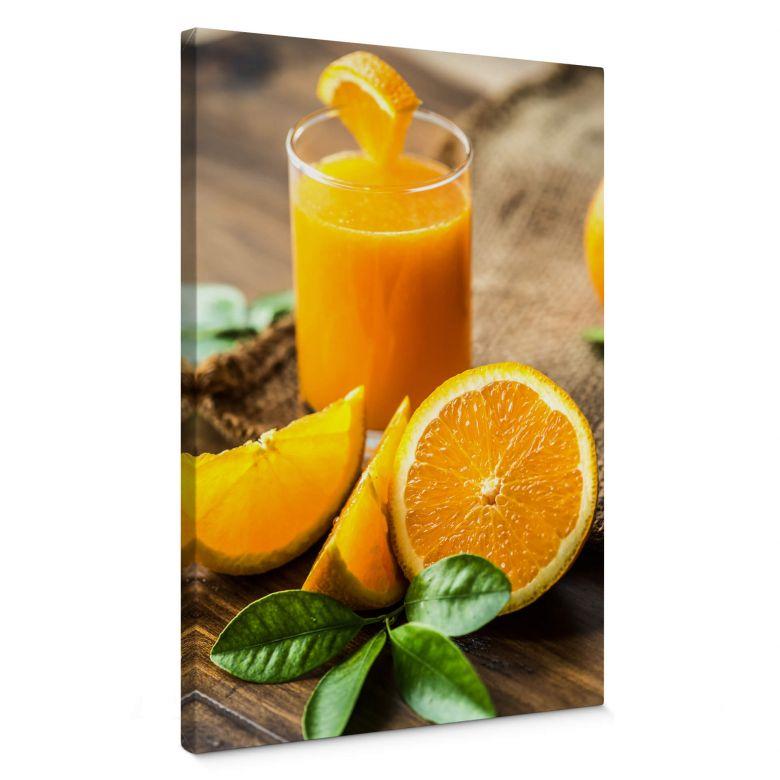 Canvas Verse Sinaasappelsap