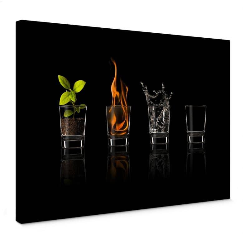 Leinwandbild Frutos Vargas - The Four Elements