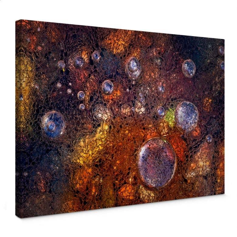 Leinwandbild Giudici - Abstraktes Glas