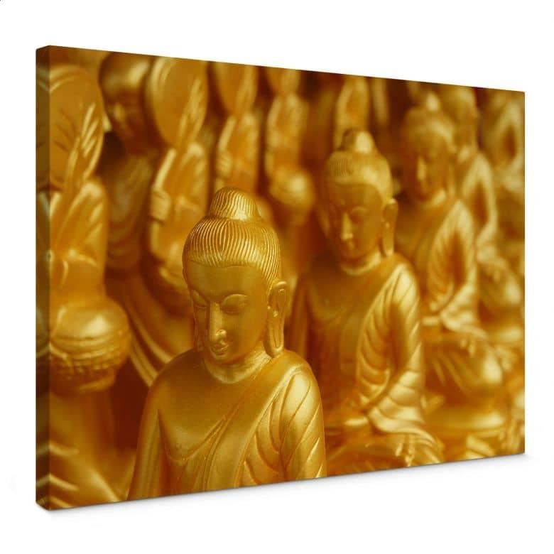 Canvas Golden Boeddha