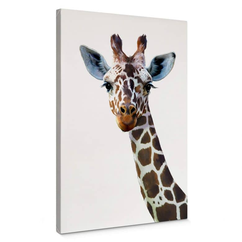 Canvas Graves - Giraffe