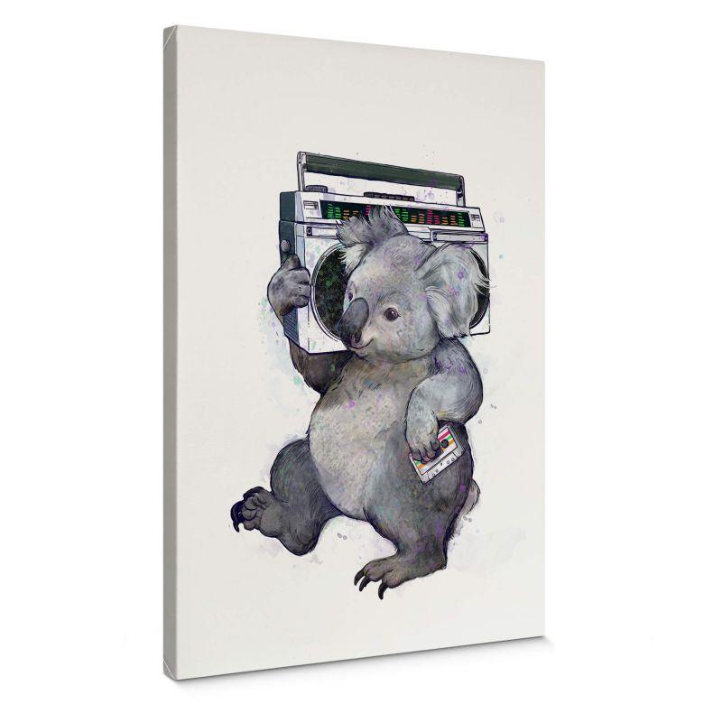 Tableau en toile Graves - Music Koala