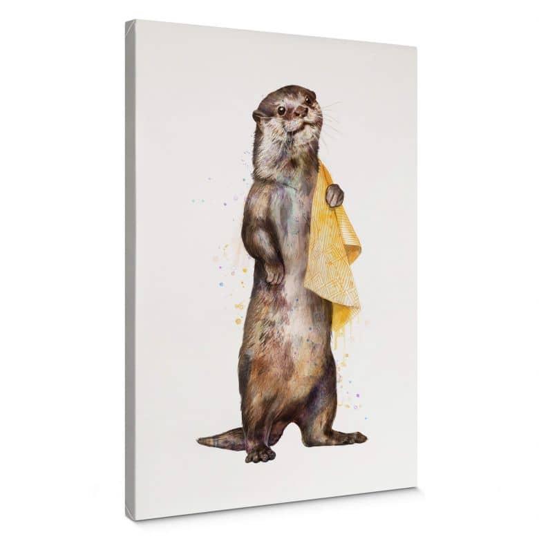 Leinwandbild Graves - Otter