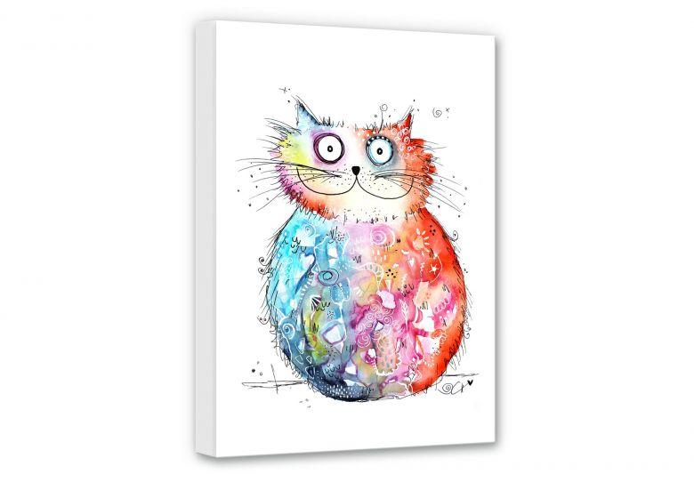 Leinwandbild Hagenmeyer - Happy Cat