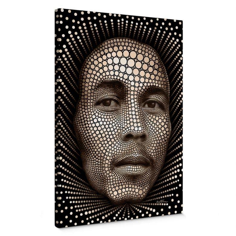 Canvas Ben Heine - Circlism - Bob Marley