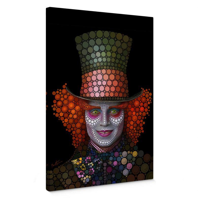 Canvas Ben Heine - Circlism - Johnny Depp