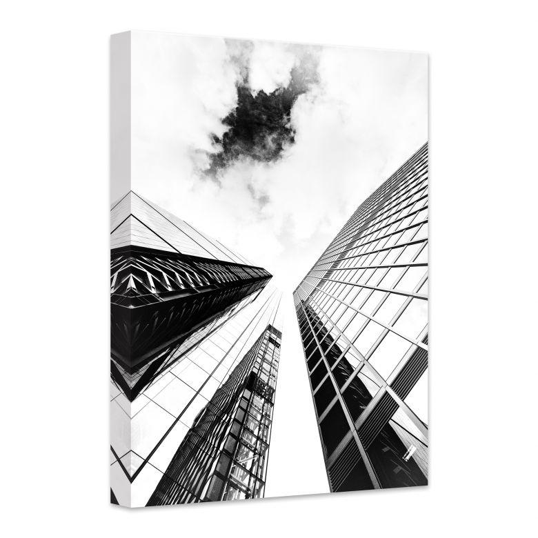 Leinwandbild Skyscraper