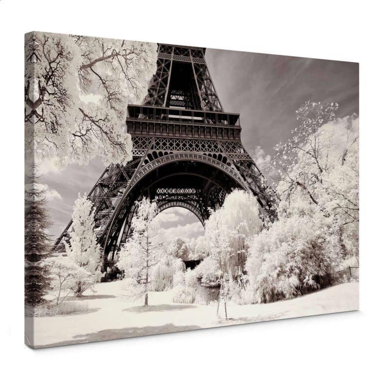 Canvas Hugonnard - Winter in Paris