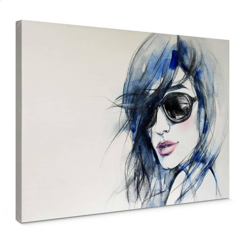 Canvas I wear my sunglasses