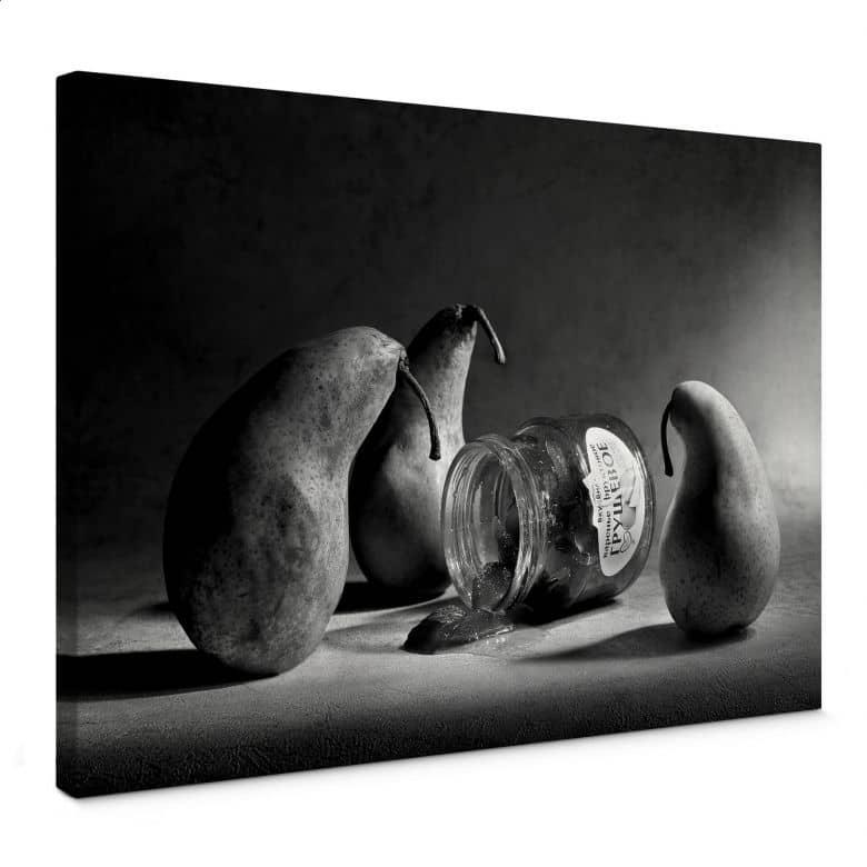 Leinwandbild Ivanova - Trauerfeier