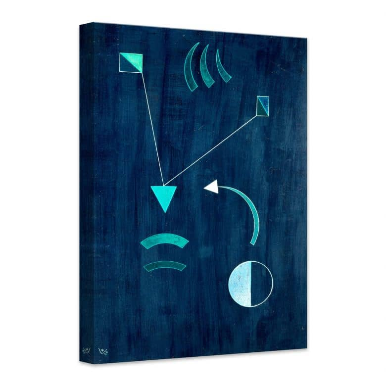 Canvas Print Kandinsky - Where to