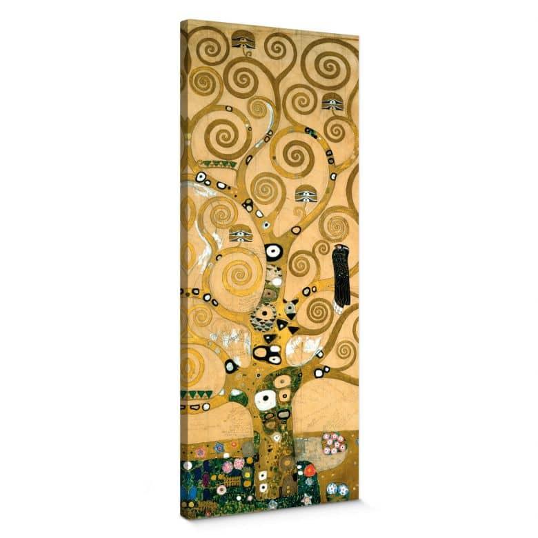 Leinwandbild Klimt - Der Lebensbaum