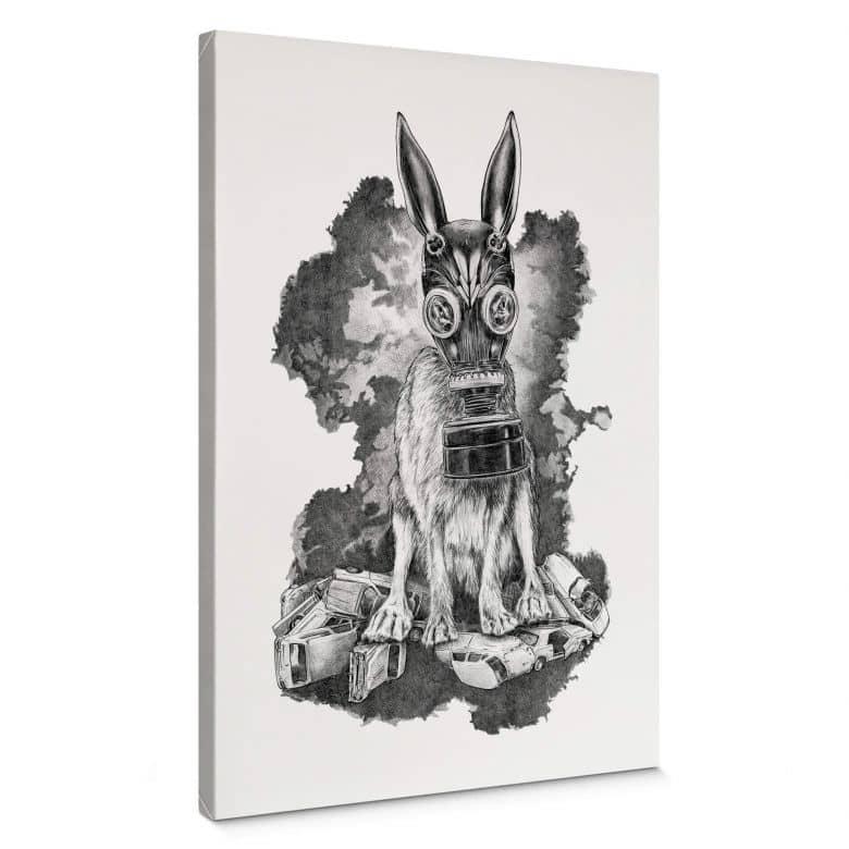 Canvas print Kools - Pollution Mask