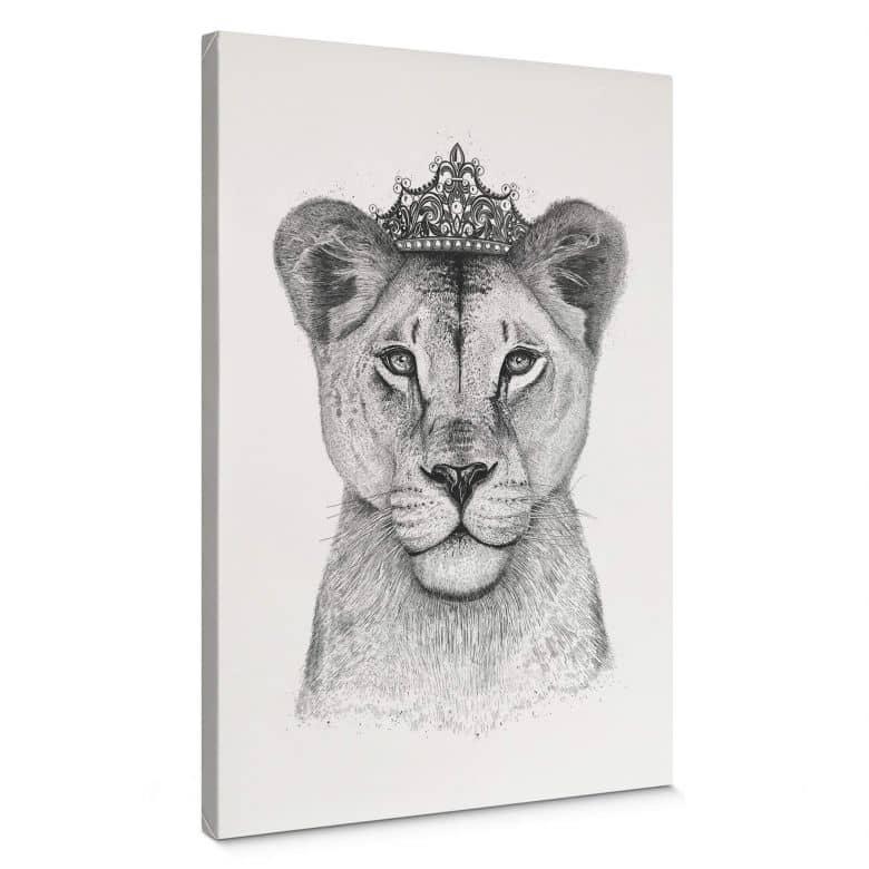 Leinwandbild Korenkova - The Lioness Queen