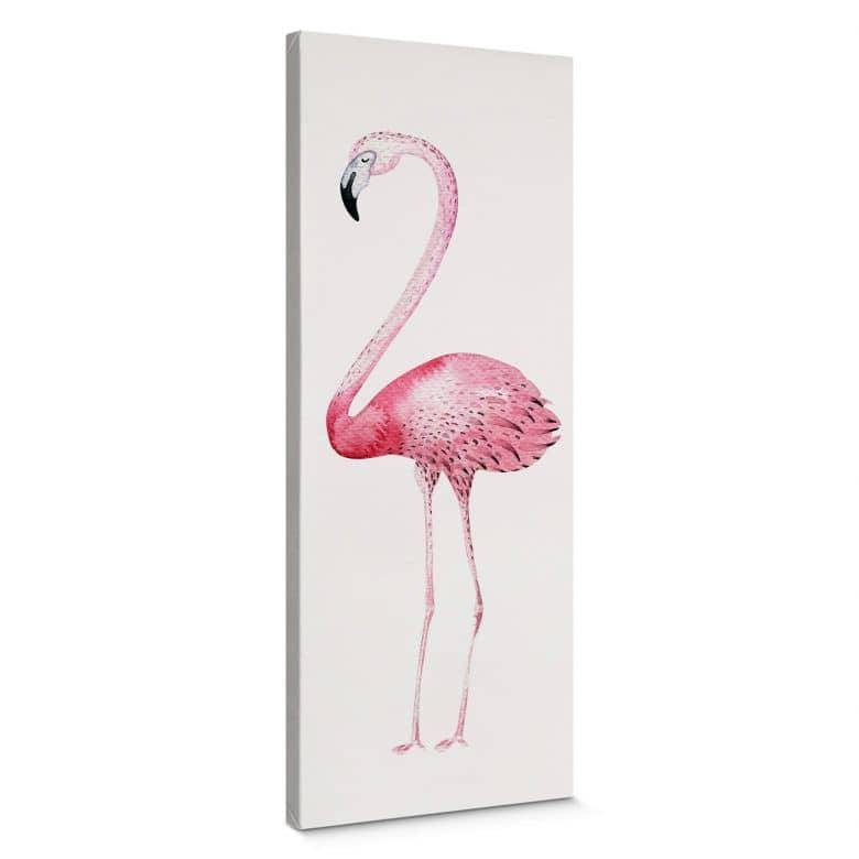 Leinwand Kvilis - Pink Flamingo 01