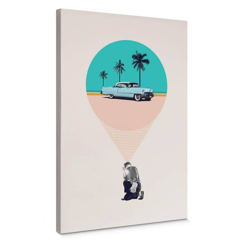 Canvas Print Marteen Léon - F is for future posibilities