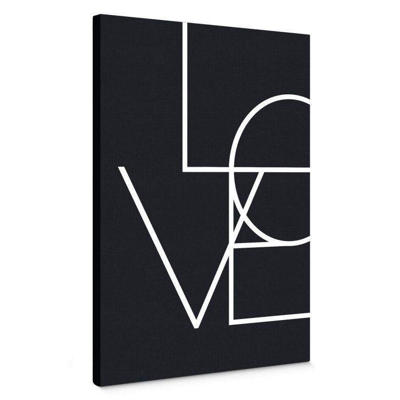 Stampa su tela - Love