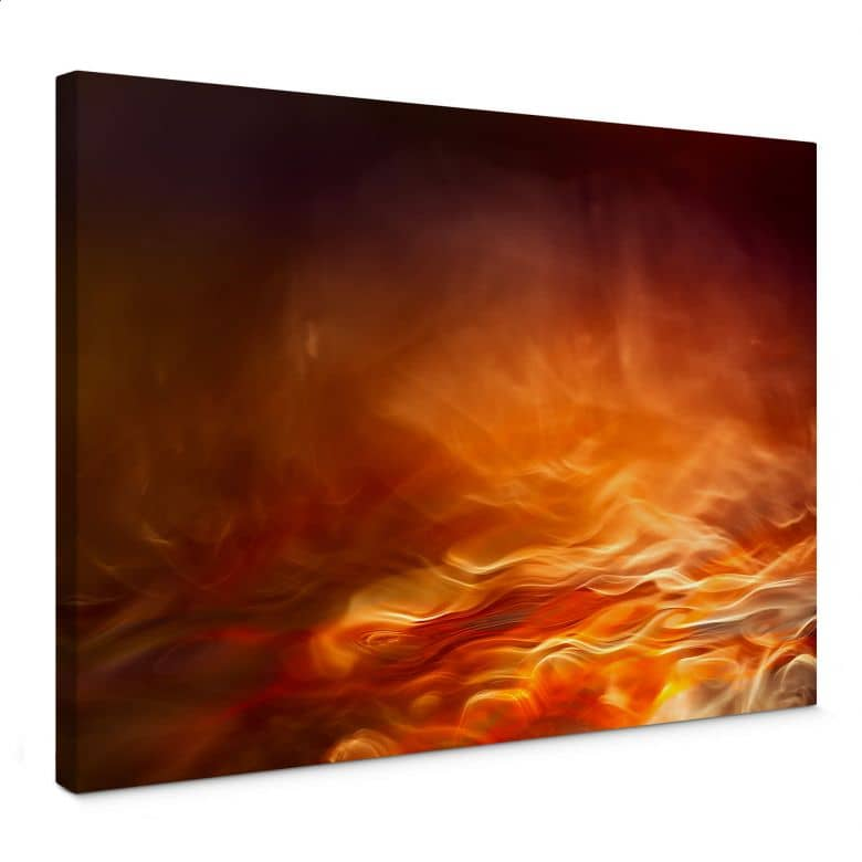 Leinwandbild Marthinussen - Burning Water