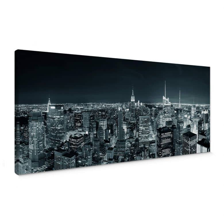 Canvas New York at night 2