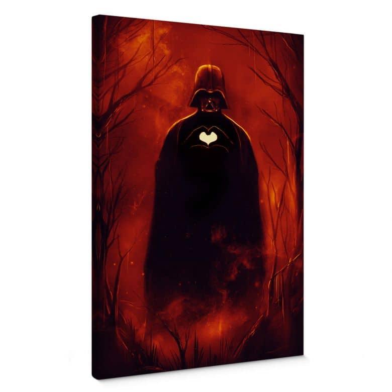 Leinwandbild Nicebleed - Heart Vader