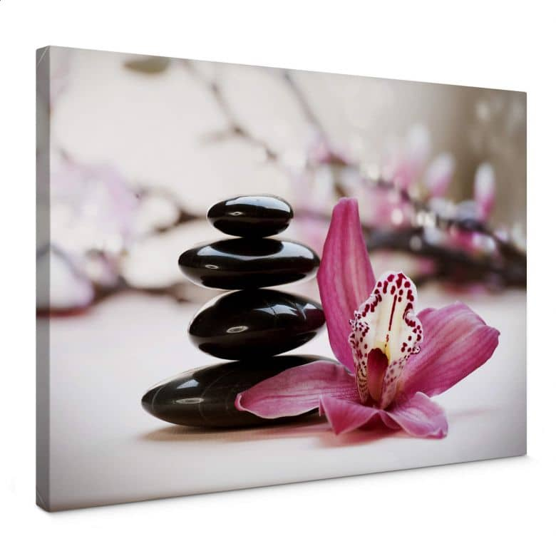 Canvas Orchidee