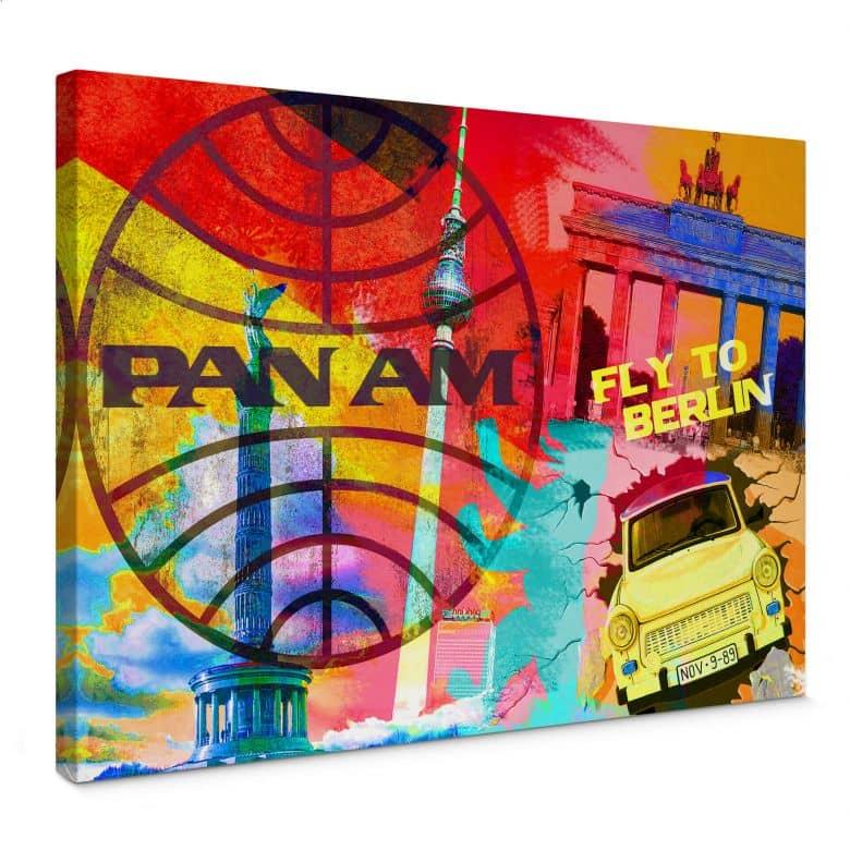 Leinwandbild PAN AM - Berlin