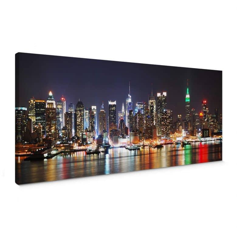 New York Skyline - Panorama Canvas print