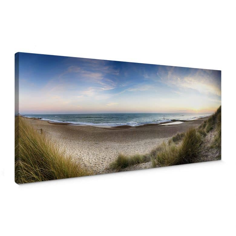 Canvas Strandpanorama