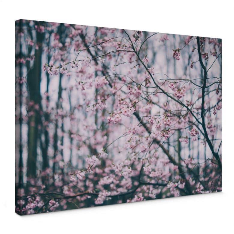 Leinwandbild Pink Flower Dream 03
