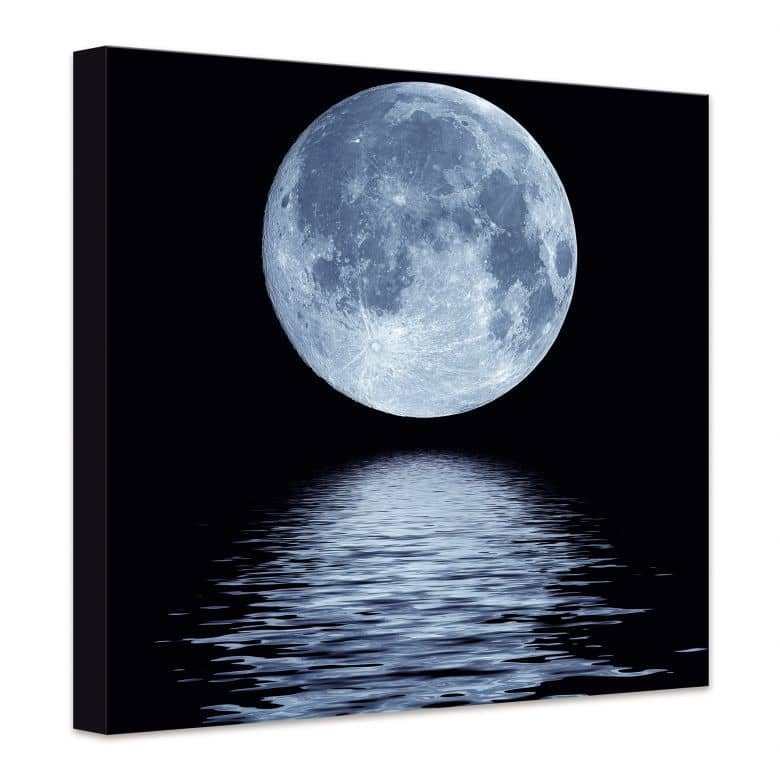 Moon Canvas Print Wall Art Com