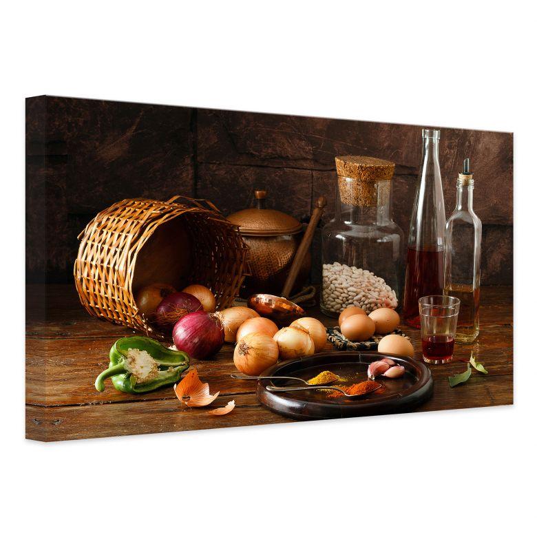 Leinwandbild Laercio - Ungarische Küche | wall-art.de
