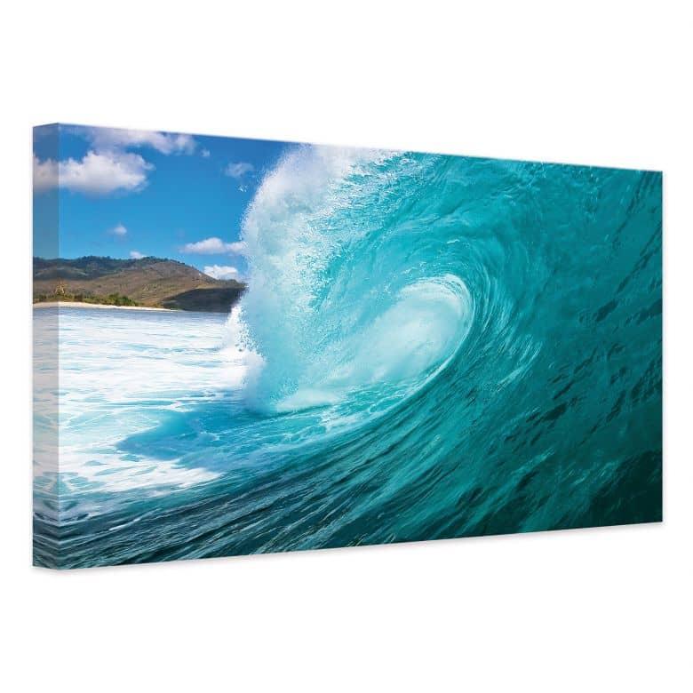 Wave Canvas Print Wall Art Com