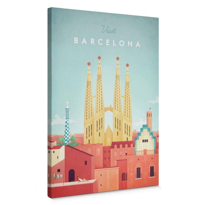Leinwandbild Rivers - Barcelona