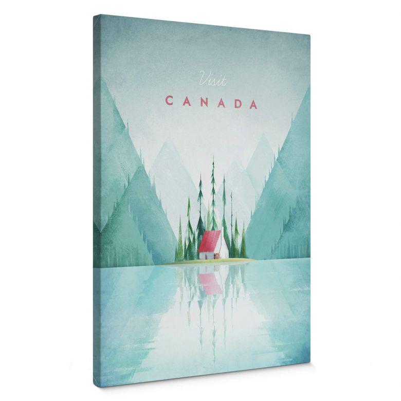 Leinwandbild Rivers - Kanada